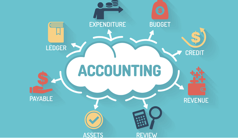 accounting cloud dollars and cent